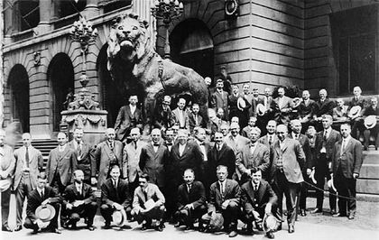 Lions First Meeting, Chicago, Illinois